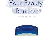 Beauty tips & tricks.