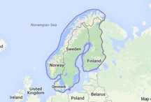 Scandinavia / The countries of Sweden, Norway, Denmark, and Finland.