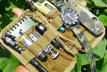 Prepper EDC Every Day Carry / Keep a small bag handy for day-to-day necessities and emergencies,