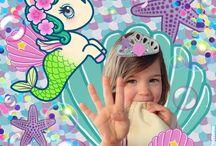 ♥Happy 4! La Sirène Party♥ / #MermaidParty #BirthdayParty #BirthdayDIY #BirthdayGirl