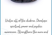 Meditation stones and jewelry / Properties of gems