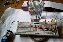 WATER LEVEL INDICATOR / Project of water level indicator