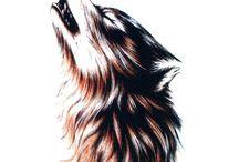 tatoo loup