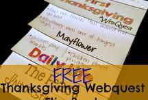 Thanksgiving for Upper Grades