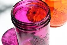 Mason jars! / by Rachel O'Gorman