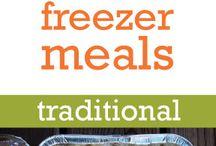 Freezer Meals, Food Planning / by Elly Konjkav-Kaboudian