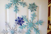 Office Christmas decoration