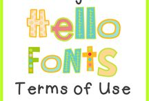 Fonts and Such / by Lacy Magby