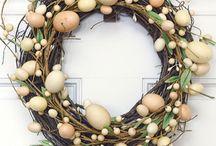 Easter decs