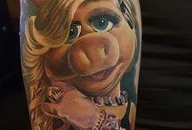 muppets tattoo