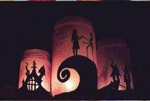 Hand Painted Jar Lanterns DIY movies inspired / Handmade Jar Lanterns