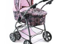 Wózki dla lalek / Wybrane przeze mnie wózki dla lalek które są dobrze wykonane, praktyczne i wygodne do złożenia.