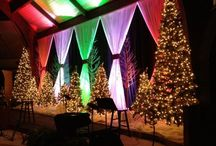 decor christmas stage