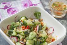 Cuisine : salades