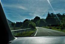 Z okna auta. / Zdjęcia zrobione z okna samochodu w czasie jazdy (poruszone,zamazane,nie ostre).