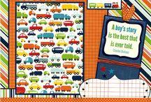 Scrapbook layouts / by Cricut Crazy Scrapper