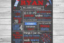 Little Firecracker Birthday - 4th of July