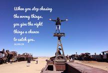 Quotes that inspire / Lifestyle enlightening.