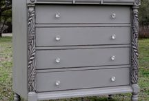 dressers/chest of drawers / by Liz Stockton