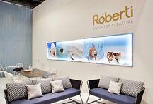 Roberti Rattan - Salone del Mobile / Act Events Allestimenti fieristici Exhibition stand display Our work at Salone del Mobile