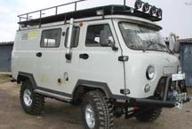 UAZ/YA3-452 - Camper, Overland Van Modify