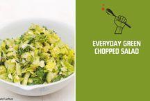 Salads, Sides, Snacks + Soup / by Jennifer Succi