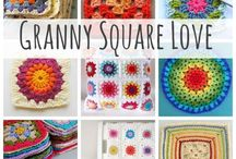 Crochet - Granny Squares / by Stacy Farley