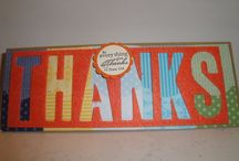 Stampin up Fall cards