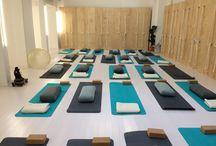Des lieux pour pratiquer le yoga / Des  bulles de Bien-être