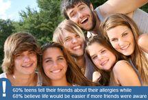 Teens and Food Allergies/Celiac