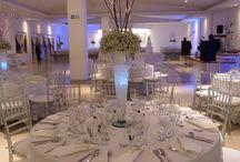 Blanco Invernal / Es la muestra de como podemos decorar tu evento de blanco invernal