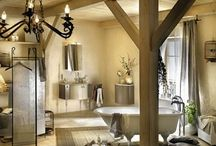Country bathroom / Just the kind of bathroom that makes me dream....