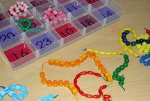 Maternelle Ateliers de manipulation autonomes de type montessori