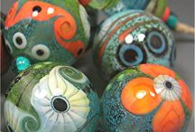 glass beads & stuff / by Merilee Moscardelli