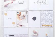 Carolina Pretorius' 'Sahin Designs' Layouts / Project Life Layouts using 'Sahin Designs' collections