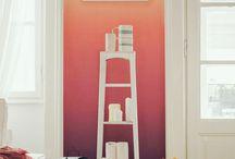 Farbgestaltung/ Wände