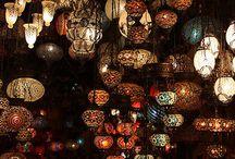 lantern / light / lamp / candle
