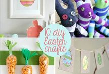 Easter / Easter crafts and fun for the whole family! / by Laura Fuentes/ MOMables.com