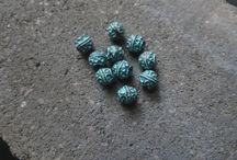 yukidesigns patina beads