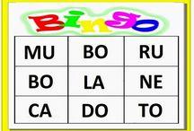 bingo de sílabas simples