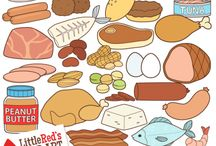 meat and fish theme