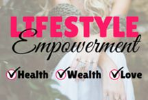 Lifestyle Empowerment / Welcome to Lifestyle Empowerment! Get empowered about everything surrounding Health, Wealth, Love and Relationships! To be added to the board include a little about yourself and your profession and email contact@theyouseries.com