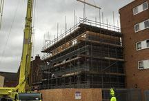 Student Accommodation Liverpool / Now completed one of our larger jobs.  Student Accommodation Flats based in Liverpool.  Our team  went to erect the SIPS Panels that were made up in our unit in Cornwall, and the project was completed by the end of December.