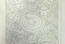 dibujos de cincelados