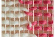 Плетение ковриков