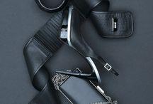 Black Fashion Flatlay