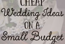 Budget Wedding Ideas / Budget wedding | Budgeting brides | How to save money in your wedding | wedding money saving ideas