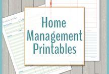 family management printables