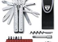 Swiss Tool - multifunkčné náradie / Multifunkčné náradie veľkosti 115 a 105 mm. S veľkým množstvom funkcií.