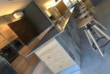 """Showroom nuovo spazio espositivo """"Le Ccuine"""" di Favalli Arredamenti / Selezione di cucine esposto nel nostro Showroom"""